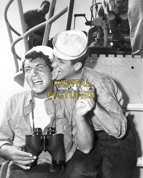 Dean Martin & Jerry Lewis of Martin & Lewis  .in Sailor Beware.*Filmstill - Editorial Use Only*.CAP/PLF.Supplied by Capital Pictures.