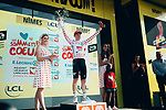 Tim Wellens (BEL) Lotto-Soudal retains the mountains Polka Dot Jersey at the end of Stage 16 of the 2019 Tour de France running 177km from Nimes to Nimes, France. 23rd July 2019.<br /> Picture: ASO/Thomas Maheux | Cyclefile<br /> All photos usage must carry mandatory copyright credit (© Cyclefile | ASO/Thomas Maheux)