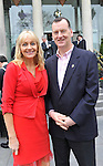 IHF-REPRO FREE IHF Conference Killarney: .Miriam O'Callaghan with Patrick Curran, Knightsbrook Hotel, Trim pictured at the IHF 75th anniversary conference in The Malton Hotel, Killarney on Tuesday..Picture by Don MacMonagle