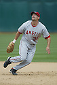 Casey Kotchman, of the Los Angeles Angels, in action against the Oakland A's during their game on April 22, 2006...Angels win 5-4..Rob Holt / SportPics
