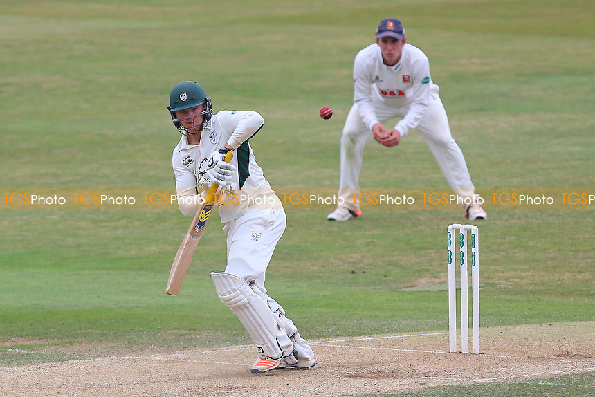 George Rhodes in batting action for Worcestershire during Essex CCC vs Worcestershire CCC, Specsavers County Championship Division 2 Cricket at the Essex County Ground on 2nd September 2016