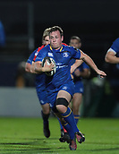 29th September 2017, RDS Arena, Dublin, Ireland; Guinness Pro14 Rugby, Leinster Rugby versus Edinburgh; Bryan Byrne (Leinster) makes a break