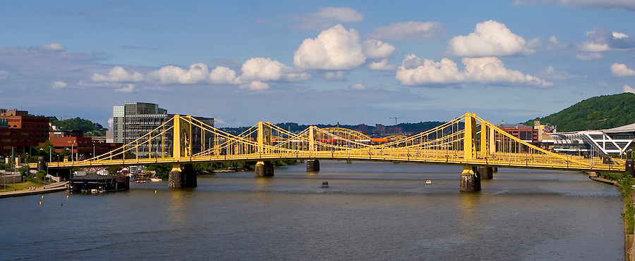 Pittsburgh Bridges - 3 Sisters on a Summer Day