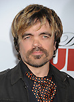 """HOLLYWOOD, CA. - April 12: Peter Dinklage arrives to the """"Death At A Funeral"""" Los Angeles Premiere at Pacific's Cinerama Dome on April 12, 2010 in Hollywood, California."""