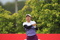 Atthaya Thitikul (AM)(THA) in action on the 3rd during Round 2 of the HSBC Womens Champions 2018 at Sentosa Golf Club on the Friday 2nd March 2018.<br /> Picture:  Thos Caffrey / www.golffile.ie<br /> <br /> All photo usage must carry mandatory copyright credit (&copy; Golffile | Thos Caffrey)
