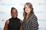 Chirlane McCray and Pam MacKinnon attend the SDC Foundation presents The Mr. Abbott Award honoring Kenny Leon at ESPACE on March 27, 2017 in New York City.