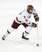 Freshman forward Ben Smith of Avon, Connecticut played last season at Westminster. The Eagles of Boston College defeated the Falcons of Bowling Green State University 5-1 on Saturday, October 21, 2006, at Kelley Rink of Conte Forum in Chestnut Hill, Massachusetts.<br />