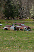 Rusted Out Jalopy, Marblemount, Washington, US