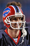 16 October 2005: Kelly Holcomb, quarterback for the Buffalo Bills, is all smiles after the game against the New York Jets on October 16, 2005 at Ralph Wilson Stadium, in Orchard Park, NY. The Bills defeated the division rival Jets 27-17. ..Mandatory Photo Credit: Ed Wolfstein