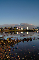 Ben Nevis and Loch Linnhe from Corpach, Lochaber<br /> <br /> Copyright www.scottishhorizons.co.uk/Keith Fergus 2011 All Rights Reserved