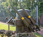RAF Regimental Rapier Hittile battery, Bentwaters Cold War museum, Suffolk, England, UK