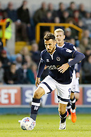 Lee Gregory of Millwall in action during the Sky Bet Championship match between Millwall and Birmingham City at The Den, London, England on 21 October 2017. Photo by Carlton Myrie.