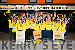 Staff at The Porterhouse getting ready for Darkness Into Light Nathan's Walk. Pictured last Saturday night.