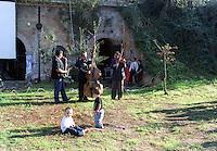 Roma.Centro sociale occupato Forte Prenestino.Festa del raccoltodella marjiuana.Rome.Social Center Forte Prenestino.marjiuana harvest festival.Roma musicians