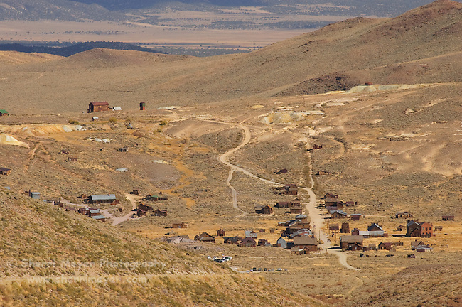The Back Road to Bodie State Historic Park, California