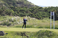 Euphemie Rhodes (ENG) on the 7th tee during Round 3 Matchplay of the Women's Amateur Championship at Royal County Down Golf Club in Newcastle Co. Down on Friday 14th June 2019.<br /> Picture:  Thos Caffrey / www.golffile.ie<br /> <br /> All photos usage must carry mandatory copyright credit (© Golffile | Thos Caffrey)