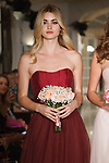Models walk runway in bridesmaid dresses from the Oleg Cassini Weddings Spring Summer 2018 collection fashion show, at 15 East 63 Street on October 6, 2017; during New York Bridal Fashion Week.