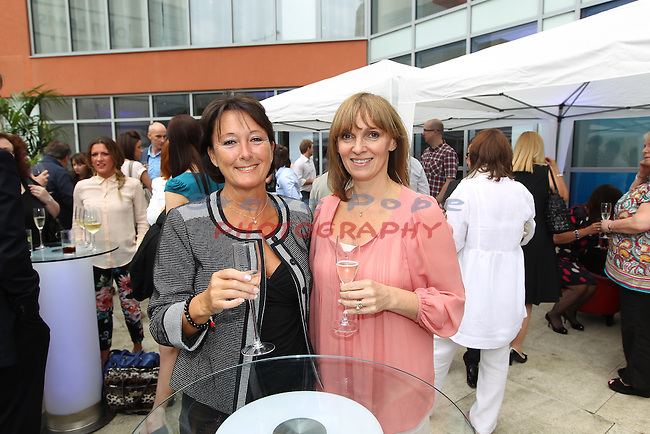 Radisson Blu Summer Party.Mary Baldwin & Jane Miller.20.06.12.©Steve Pope