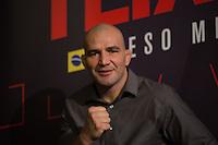SÃO PAULO, SP, 05.11.2015 - UFC-SP - Glover Teixeira durante entrevista coletiva no UFC Media Day, no hotel Hilton, na zona sul de São Paulo, na manhã desta quinta-feira, 05. (Foto: Adriana Spaca/Brazil Photo Press)