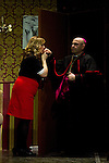 "07.05.2012. Go Figure ""The Order"" at the Teatro Häagen-Dazs Calderon sitcom written and directed by Luis Rodriguez Juan. In the picture: Esther Fernandez and Antonio Jimenez (Alterphotos/Marta Gonzalez)"