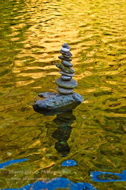 American River Rock Art (Cairn)