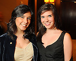 Mandy and Gloria Luna at the University of St. Thomas Court of Diamond Jubilee at the HIlton Americas Hotel Tuesday Feb. 16,2010. (Dave Rossman Photo)