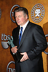 LOS ANGELES, CA. - January 23: Alec Baldwin poses in the press room at the 16th Annual Screen Actors Guild Awards held at The Shrine Auditorium on January 23, 2010 in Los Angeles, California.