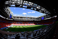 Moscow, Russia - June 22 : Illutration stadium during a training session of the National Soccer Team of Belgium prior to the FIFA 2018 World Cup Russia group G phase match between Belgium and Tunisia at the Spartak Stadium on June 22, 2018 in Moscow, Russia, 22/06/2018 <br /> Football FIFA World Cup Russia  2018 <br /> Foto Panoramic/Insidefoto