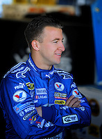 Feb 07, 2009; Daytona Beach, FL, USA; NASCAR Sprint Cup Series driver A.J. Allmendinger during practice for the Daytona 500 at Daytona International Speedway. Mandatory Credit: Mark J. Rebilas-