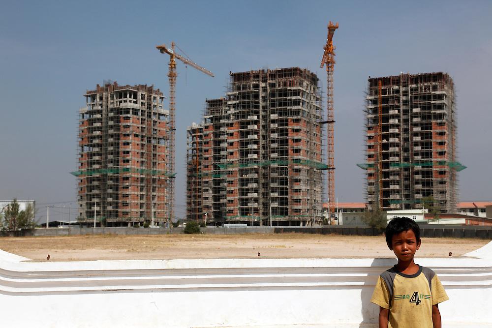 Cambodia Camko City Construction Luke Duggleby Picture Archive