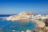 The village Finiki in Karpathos, Greece