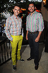 Ryan Tietz and Adam Weinstein at the Hotel Zaza's annual Spring Party Wednesday April 24, 2013.(Dave Rossman photo)