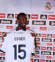 2012.09.01_Madrid ,Spain, Presentacion Michael Essien ( GAN ) , Bernabeu Stadium