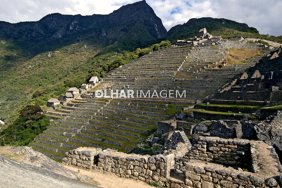 Ruínas da cidade Inca de Machu Pichu, Cuzco. Peru. 2005. Foto de Luciana Whitaker.