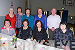 Ann O'Keeffe, Mary Scanlon, Joan O'Shaughnessy, Pauline Barry, Dan Barry,Breeda O'Keefe, Eileen Kennedy Eileen Kelliher and Eileen Baker enjoying thee Ardfert Community Centre Tea Dance on Sunday