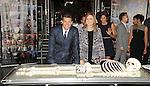 David Boreanaz and Emily Deschanel at the BONES 200th Episode Celebration held at FOX Studios in Los Angeles, CA. November 14, 2014.