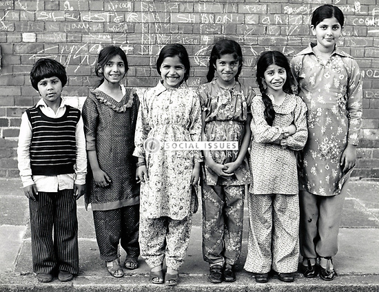 Children, Hyson Green, Nottingham UK 1981
