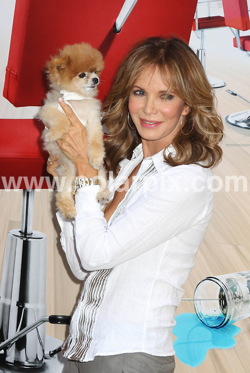 **ALL ROUND PICTURES FROM SOLARPIX.COM**.**SYNDICATION RIGHTS FOR UK, SPAIN, PORTUGAL, AUSTRALIA, S.AFRICA & DUBAI (U.A.E) ONLY**.The  Ex charlies angel Jaclyn Smith  together with Rene Fris, Andy Cohen and Kim Vo attended the Shear Genius Season 2 Launch Party  Arrivals at Military Island in Times Square in New York in the USA. .This pic:Jaclyn Smith.JOB REF:6721-PHZ/Janet Mayer          DATE:24_06_08 .**MUST CREDIT SOLARPIX.COM OR DOUBLE FEE WILL BE CHARGED* *UNDER NO CIRCUMSTANCES IS THIS IMAGE TO BE REPRODUCED FOR ANY ONLINE EDITION WITHOUT PRIOR PERMISSION*
