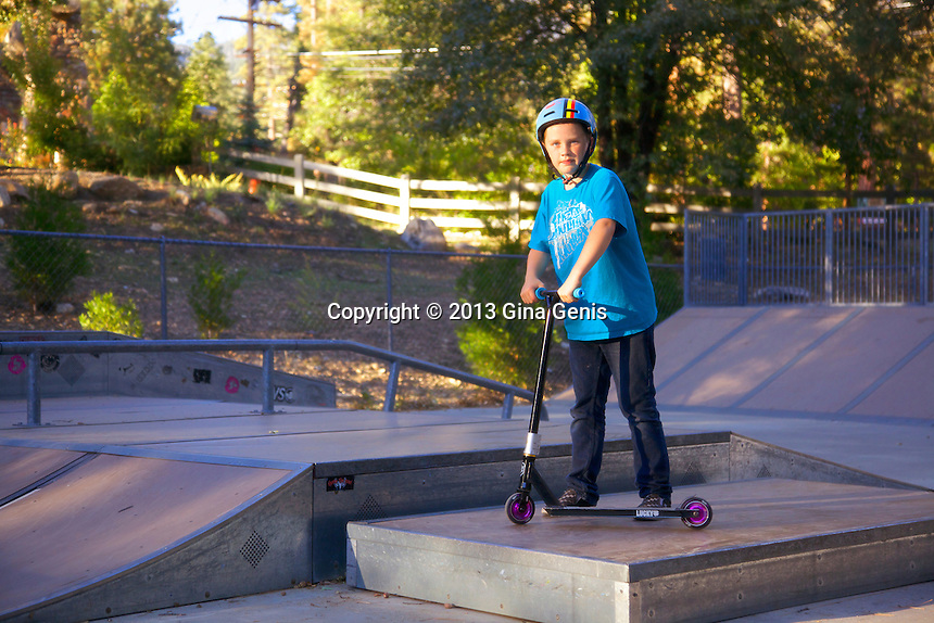 Stefan Carman at the Idyllwild Skate Park