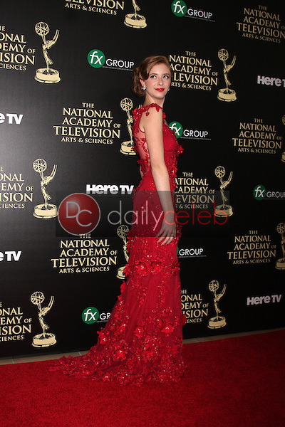 LOS ANGELES - JUN 22:  Ashlyn Pearce at the 2014 Daytime Emmy Awards Arrivals at the Beverly Hilton Hotel on June 22, 2014 in Beverly Hills, CA