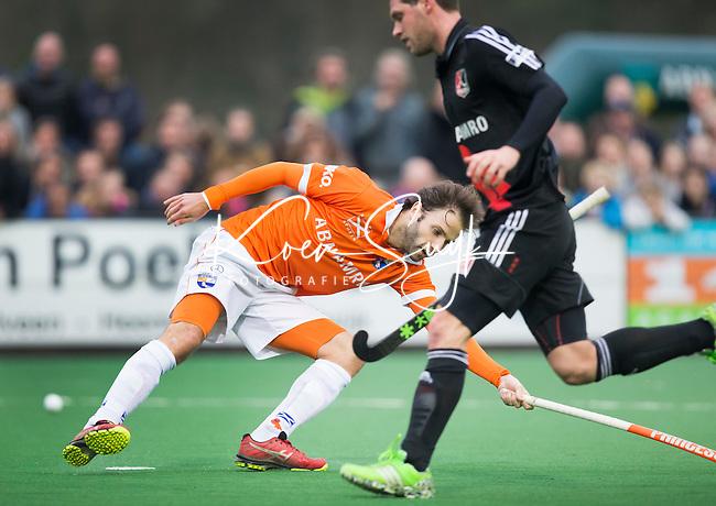 BLOEMENDAAL - Bloemendaal-Amsterdam (2-1) .   Rogier Hofman van Bloemendaal , COPYRIGHT   KOEN SUYK