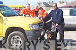 PREPARING: preparing to go out on the seach for missing man were members of civil defence from kerry and dog handler Eddie Mongimer. civil defence members were: Damien Culhane, Niall Brosnan and Brian Carbine..HEADQUARTERS: Getting maps together in the search for , at Ballyheigue Community Centre on Saturday were members of Ballybunion Sean Rescue and Civil Defence, Tom Brosnan (civil Defence Manager), TJ McCarron (Ballybunion Sea Rescue and Coast Guard), Tom Brick (search manager) and Caroline McConnell(Search Rescue). .CLEAN: Some members of the clean up party at Fenit on Saturday they were; Paggy Daly,Mary Daly,Sarah Kate Daly,James McCarthy,Hazel Reid and Margaret Crowley.COMMUNITY; repersenting Ardfert/Kilmoyley in the Community Games Basketball on Saturday at Presentation Gym, Tralee were: Mary Lyne,Uahe O'Riordan,Rachel and Jenny O'mahony,Aileen McElligott,Fiona Wolfe,Aine O'Connor,Louise O'Flaherty,Joanne Mehan and Maeve Godley. .GAMES: Playing in the Basketball community games at Presentation Gym, Tralee on Saturday were members of Strand Road team. Front l-r: Victoria Samul,Derek Horgan(asst coach) and Emma Linnane. Back l-r: Laura Falvey,caoimhe Crowe,Katie Kelly and Maeve Linnane. .BASKETBALL: Playing in the Community Games basketball at Presentation Gym, Tralee on Saturday were Rock Street/Caherslee. Caoimhe Barry Walsh,Niamh Myers,Courtney Ryan and Marie Horgan. Back l-r: Laura Carroll, Sinead Ryall, kavina Quilter,Caitriona Collins and Clodagh Fitzgerald..Sarah, daughter of Ita and Tadgh Brosnan, Lis Carroll, Co,Cork and Thomas, son of Breda and Tom McElligott, who were married on Friday at St Joseph's Church Liscarroll, Co Cork by Fr John O'Riordan. Best man was Billy McElligott brother of the groom, and groomsmen were Liam Fitzpatrick and Pater McCarthy. Bridesmaids were, Therese, Emma and mairead Brosnan. Flowergirl was Ruby McElligott -Egan. Pageboy was Rian Bartley. The reception was held at Ballyroe Heights Hotel, Tralee. The couple will reside