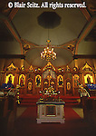 Church architecture, eastern orthodox church interior, McAdoo, NE PA