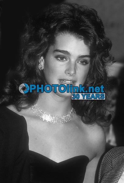 Brooke Shields 1983<br /> Photo By John BarrettPHOTOlink.net