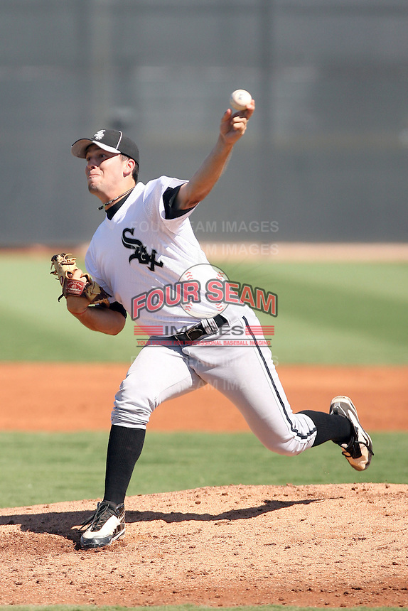 Jarrett Casey - Chicago White Sox - 2010 Instructional League.Photo by:  Bill Mitchell/Four Seam Images..