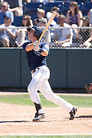 July 25, 2010: Everett AquaSox's Jimmy Jacquot (16) at-bat during a Northwest League game against the Salem-Keizer Volcanoes at Everett Memorial Stadium in Everett, Washington.