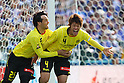 (L to R) Ricardo Lobo (Reysol), .Hiroki Sakai (Reysol), MARCH 11, 2012 - Football /Soccer : 2012 J.LEAGUE Division 1 between Kashiwa Reysol 3-3 Yokohama F Marinos at Kashiwa Hitachi Stadium, Chiba, Japan. (Photo by YUTAKA/AFLO SPORT) [1040]