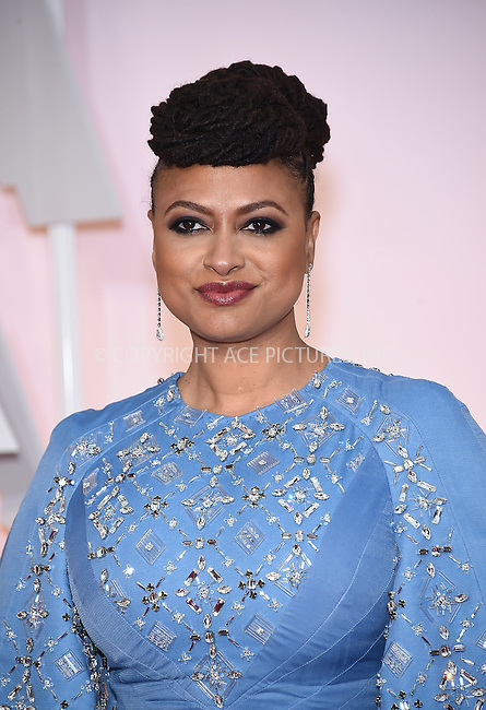 WWW.ACEPIXS.COM<br /> <br /> February 22 2015, Los Angeles Ca.<br /> <br /> Actress Ava DuVernay arriving at the 87 th Annual Academy Awards at the Hollywood and Highland center on February 22 2015 in Hollywood CA.<br /> <br /> <br /> Please byline: Z15/ACE Pictures<br /> <br /> ACE Pictures, Inc.<br /> www.acepixs.com<br /> Email: info@acepixs.com<br /> Tel: 646 769 0430