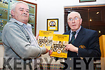 Attending the Press launch of the Austin Stacks 100 Years Book was held in the Clubrooms in Connolly park on Monday night last, l to r: John Duggan and Martin Collins.