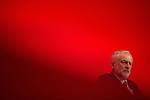 © Joel Goodman - 07973 332324 . 25/09/2016 . Liverpool , UK . Labour leader JEREMY CORBYN at a session marking assassinated MP , Jo Cox's memory , at the ACC in Liverpool , during the first day of the Labour Party Conference . Photo credit : Joel Goodman